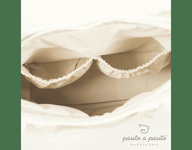 Bolsa Pañalera Beige - Nido Volante