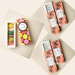 2 cajas Muscadines + 1 caja Macarones