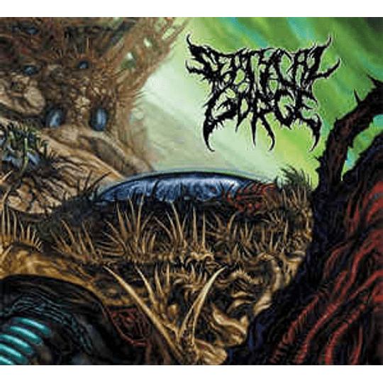 Septycal Gorge - Growing Seeds Of Decay CD Dig