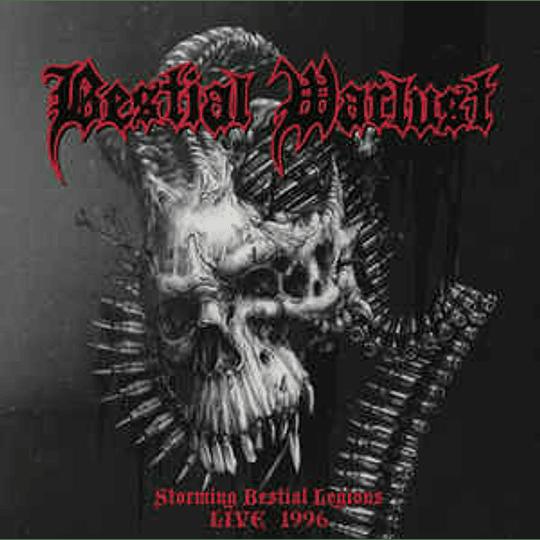 Bestial Warlust - Storming Bestial Legions Live 1996 CD
