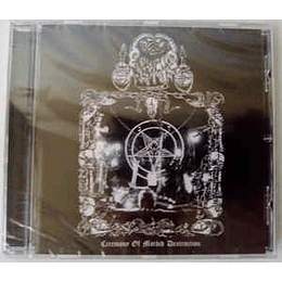 Goathammer  - Ceremony Of Morbid Destruction CD,