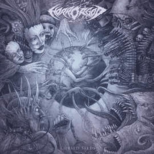 Horror God - Cursed Seeds CD