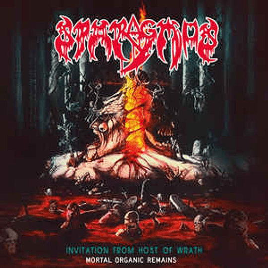 Sparagmos  - Invitation From Host Of Wrath / Mortal Organic Remains CD