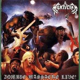 Mortician - Zombie Massacre Live! (2xLP, Album, Ltd, RE, Red)