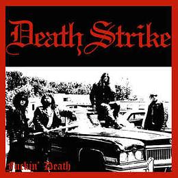 Death Strike - Fuckin' Death (LP, Album, RE, Cle)