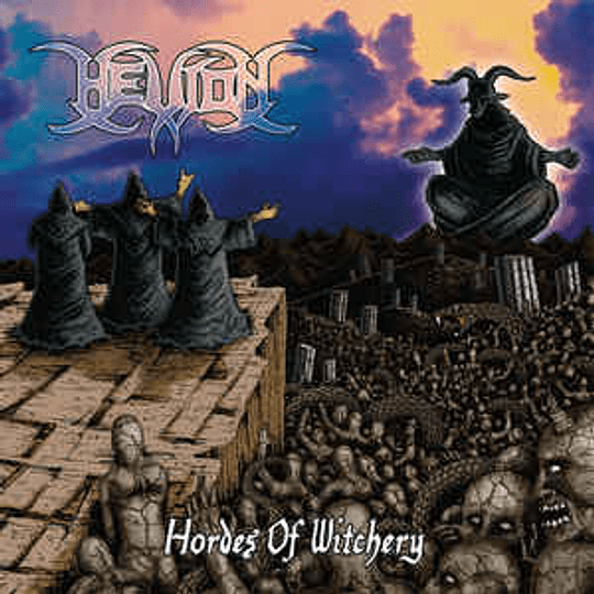 Hellion - Hordes Of Witchery CD