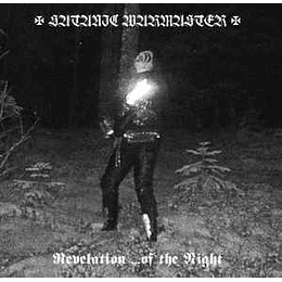 Satanic Warmaster - Revelation ... Of The Night CD