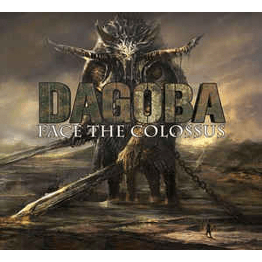 Dagoba - Face The Colossus CD Dig
