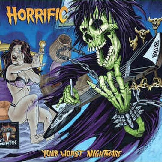 Horrific - Your Worst Nightmare CD Dig