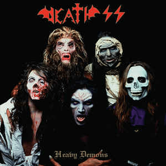 Death SS - Heavy Demons CD Dig