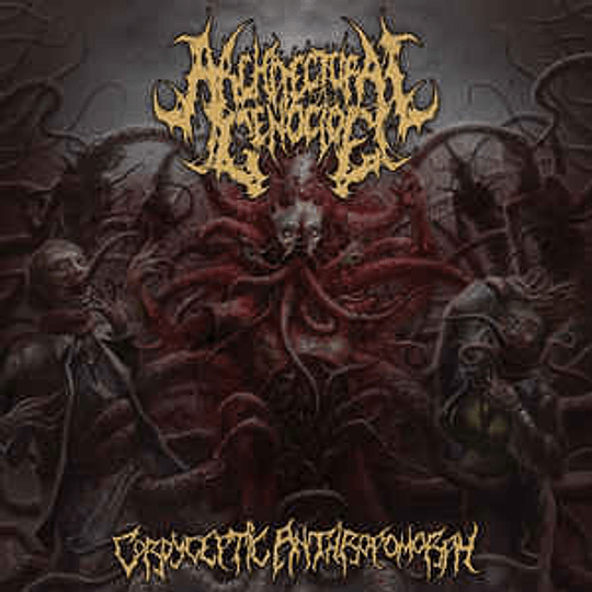 Architectural Genocide - Cordyceptic Anthropomorph CD