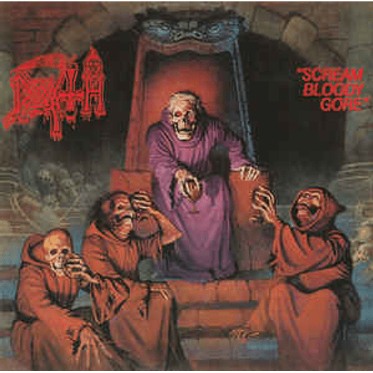Death  - Scream Bloody Gore CD, Album, RE