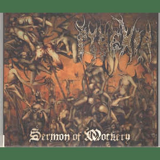 Pyrexia - Sermon Of Mockery CD, Album, RE, Dig
