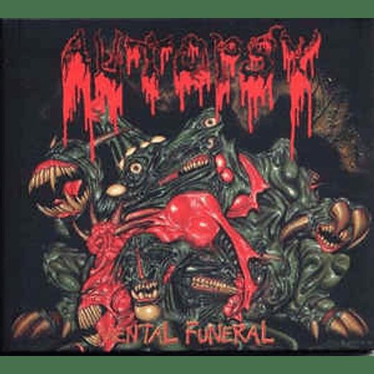Autopsy - Mental Funeral CD, Album, RE, RM, Dig