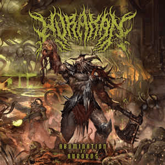 Hurakan - Abomination Of Aurokos CD