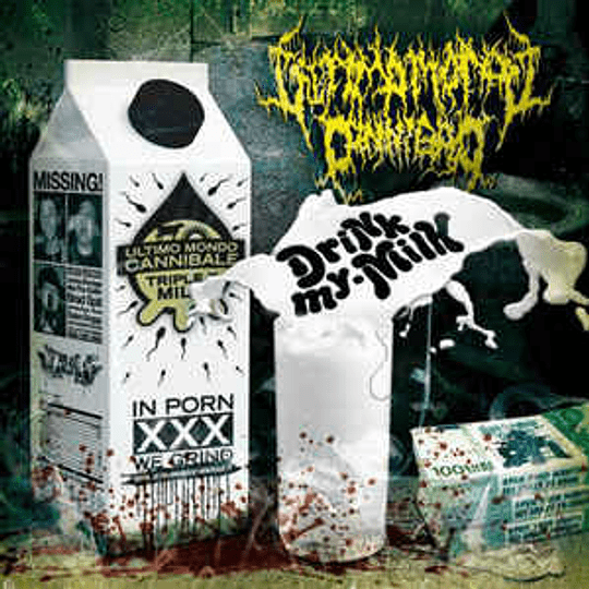 Ultimo Mondo Cannibale - Drink My Milk CD
