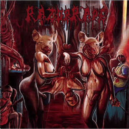 Razorrape - Revenge Of The Hermaphrodite Whores CD
