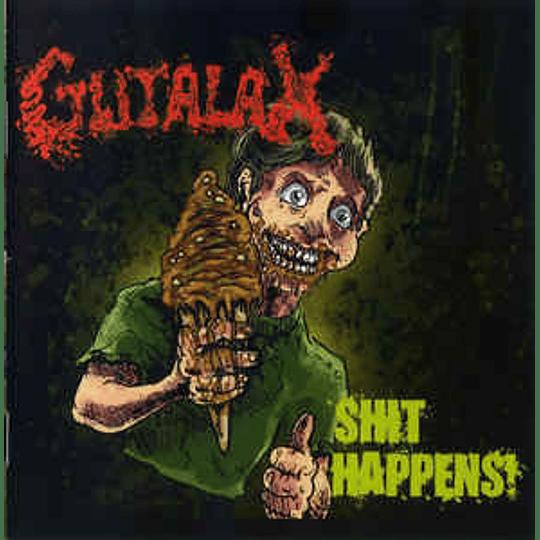Gutalax - Shit Happens! CD