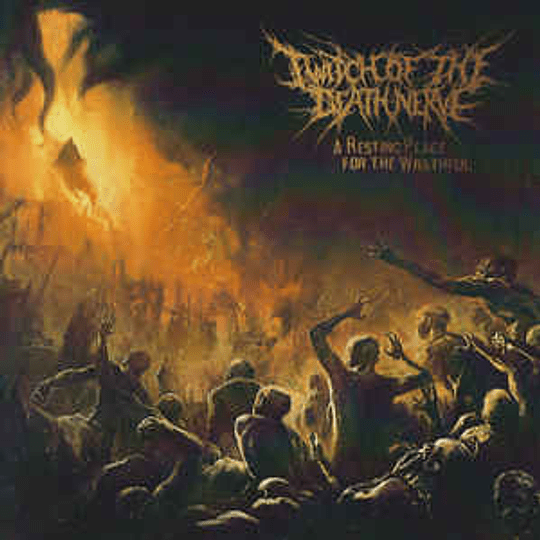 Twitch Of The Death Nerve - A Resting Place for the Wrathful CD