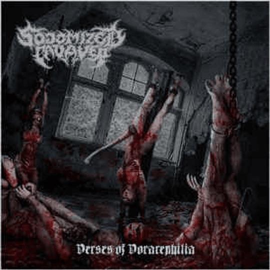 Sodomized Cadaver - Verses Of Vorarephilia CD