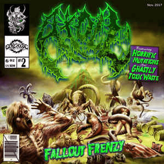 Atoll  - Fallout Frenzy CD