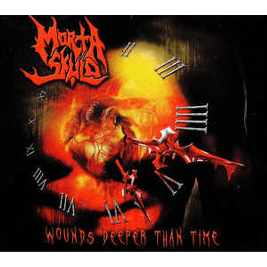 Morta Skuld - Wounds Deeper Than Time CD, Dig