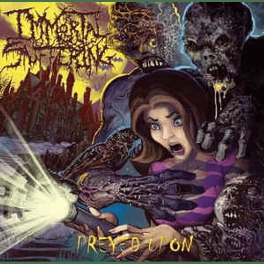 Immortal Suffering - Preyed Upon CD