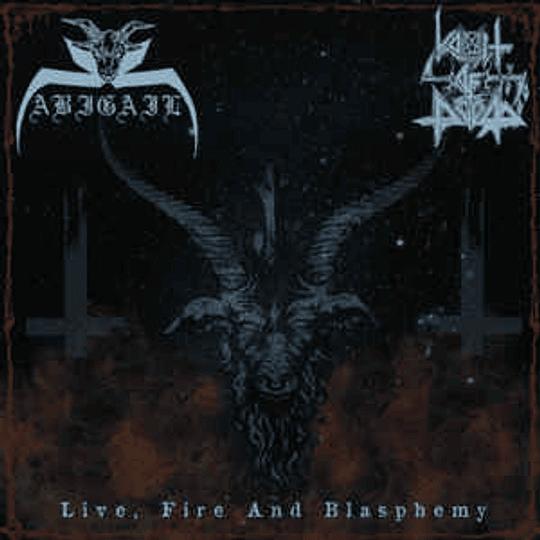 Abigail  / Vomit Of Doom - Live, Fire And Blasphemy CD