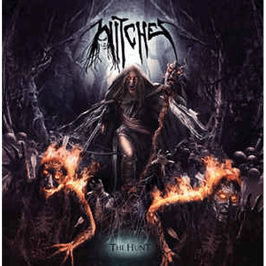 Witches - Thrashing The Hunt CD