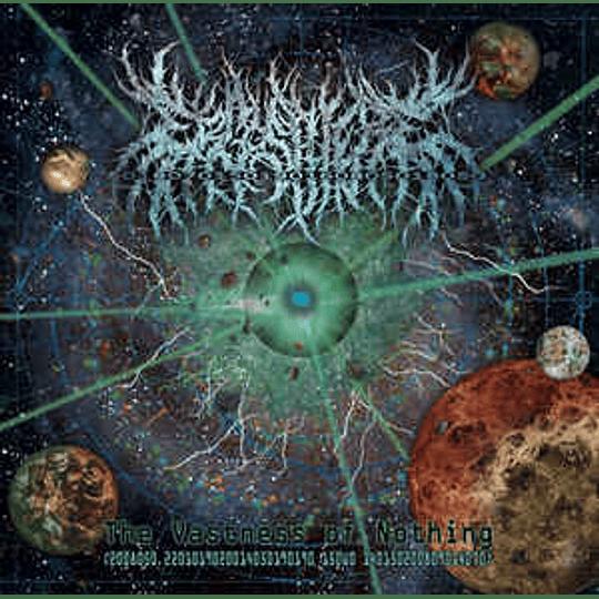 Ergosphere - The Vastness Of Nothing CD