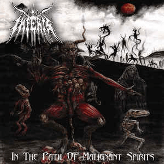 Inferis (2) - In The Path Of Malignant Spirits CD