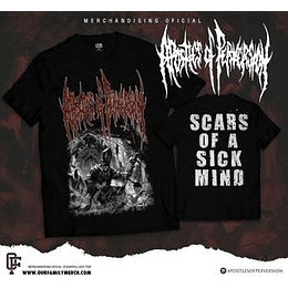 APOSTLES OF PERVERSION -  SCARS OF A...T-SHIRT SIZE M