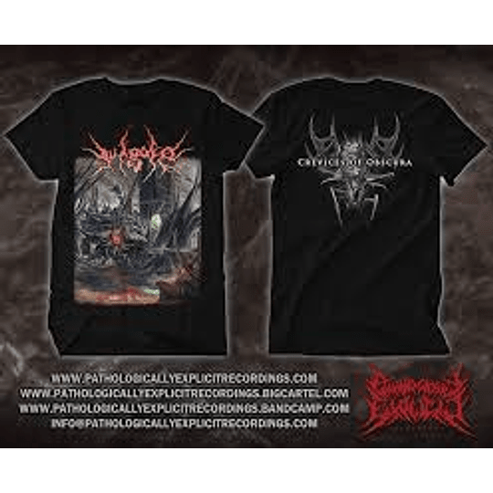 VULGORE-CREVICES OF ...T-SHIRT L SIZE