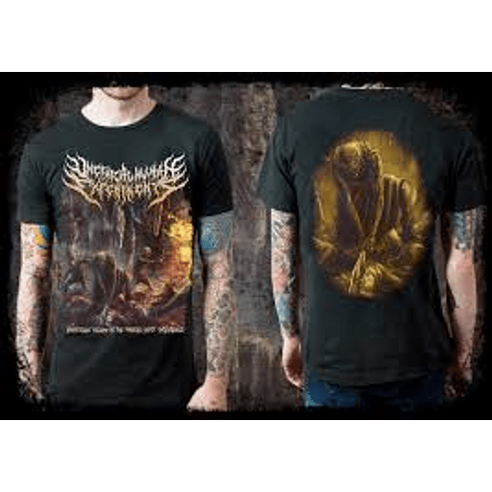 UNETHICAL HUMAN EXPERIMENTS T-SHIRT SIZE M