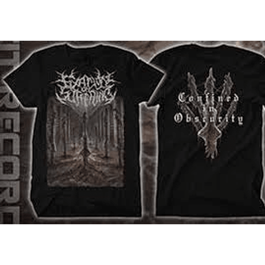 FIXATION ON SUFFERING -  CONFINED ..T-SHIRT XL