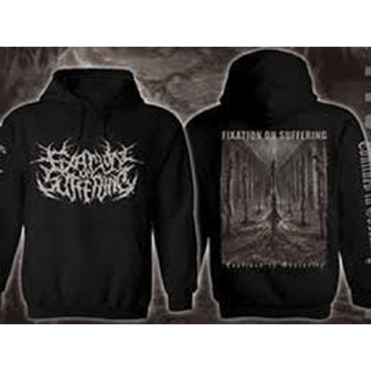 FIXATION ON SUFFERING HOODIE M