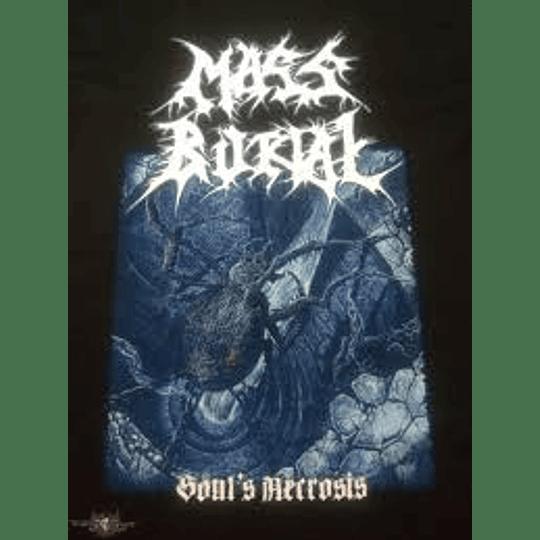 MASS BURIAL - SOUL´S NECROSIS T-SHIRT 2XL