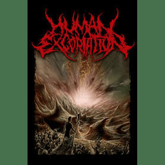 HUMAN EXCORIATION -CELESTIAL DEVOURMENT T-SHIRT L