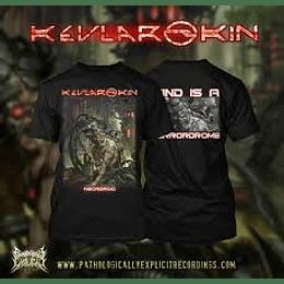 KEVLAR SKIN - NECROROID T-SHIRT L