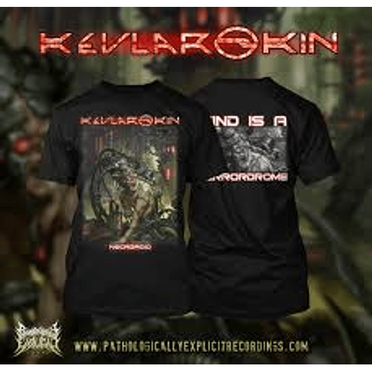 KEVLAR SKIN - NECROROID T-SHIRT XL