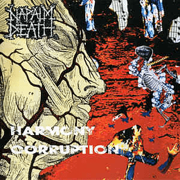 Napalm Death - Harmony Corruption CD,RE