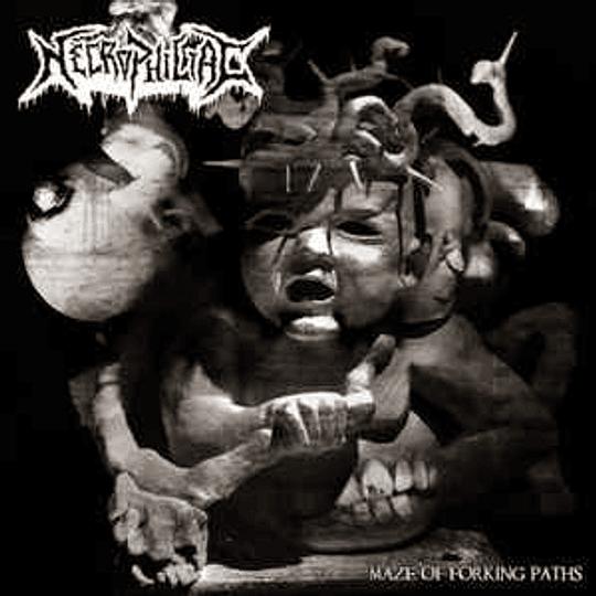 Necrophiliac - Maze of Forking Paths 2xCD