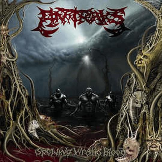 Antraks - Spewing Wrath Blood CD