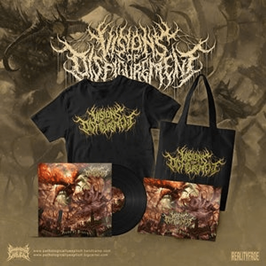 Visions Of Disfigurement - Aeons Of... COMBOPACK SIZE XL