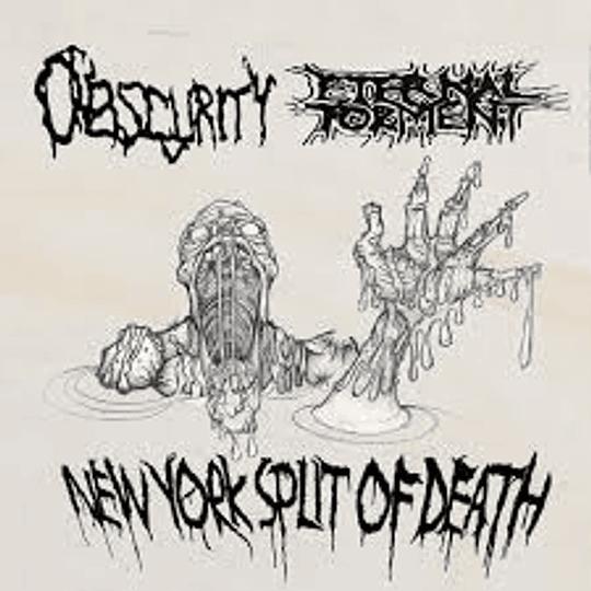 Eternal Torment / Obscurity - New York Split Of Death