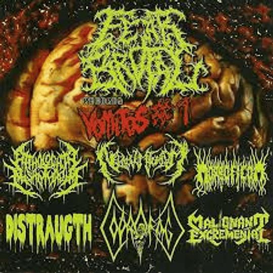 Fear Brutal Vomitos - Split Cd