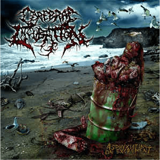 Cerebral Incubation – Asphyxiating On Excrement CD