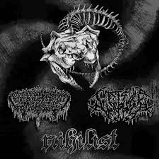 Celestial/Fistfuck- Split CD, Dig