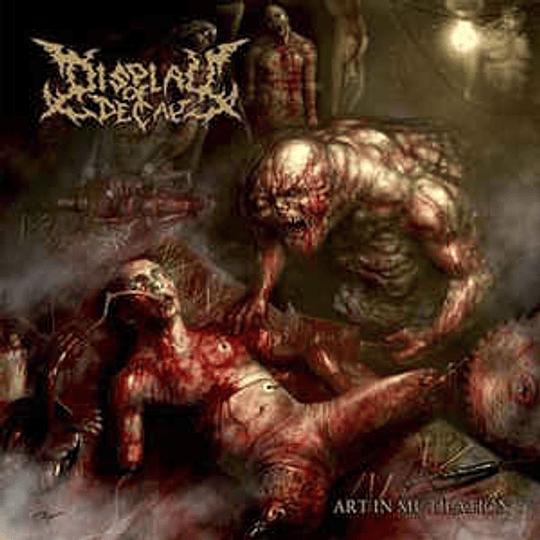 Display Of Decay – Art In Mutilation CD, Dig