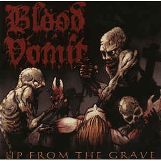 Blood Vomit – Up From The Grave CD